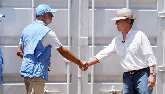 Colombia termina oficialmente el conflicto con las FARC tras la entrega de armas. (EFE)