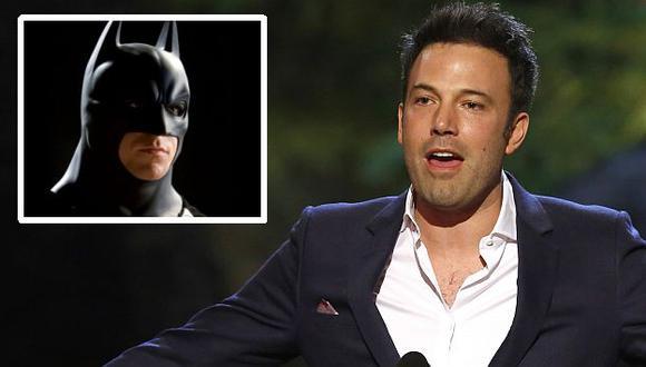 Affleck encarnará al hombre murciélago. (Internet)