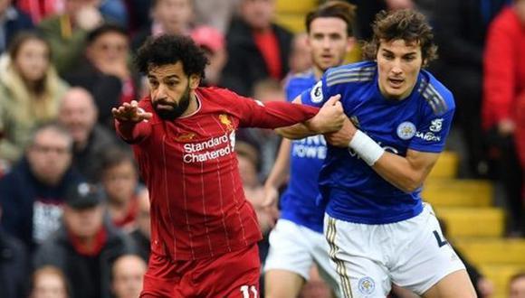 Liverpool vs. Leicester City: chocan por la fecha 19 de la Premier League. (Foto: AFP)