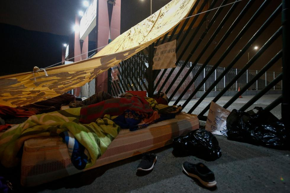 La Universidad Nacional Mayor de San Marcos (Unmsm) mediante un comunicado, informó que cerró la ciudad universitaria, luego de que un alumno residente y cuatros trabajadores dieran positivo a COVID-19. Fotos: Andrés Paredes/ GEC