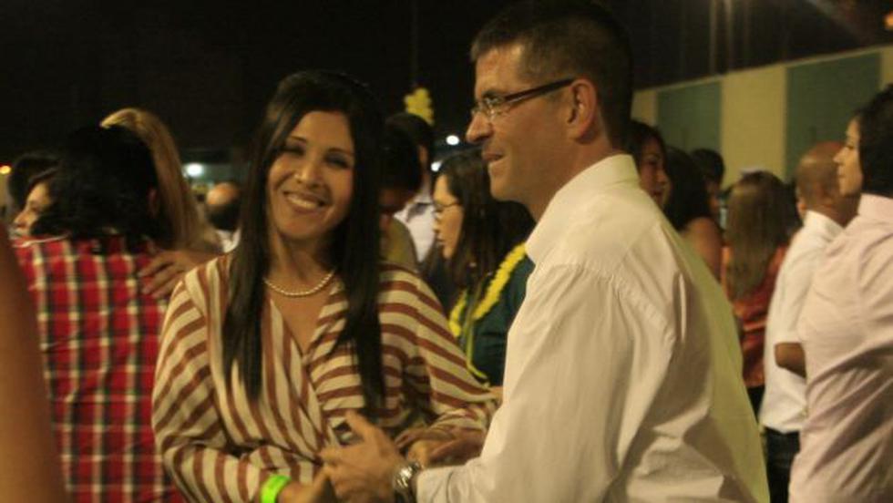 Cuatro años de romance han cumplido Tula Rodríguez y Javier Carmona. (USI)