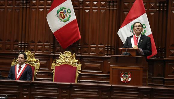 Daniel Salaverry está reunido en Cieneguilla con Fuerza Popular y la legislatura empezó el 28 de Julio. (Geraldo Caso)
