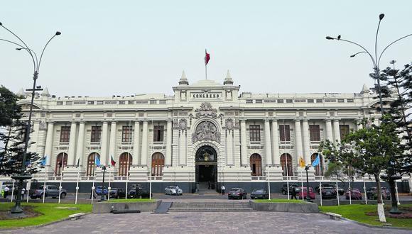 La sesión se llevará a cabo en la Sala Grau del Palacio Legislativo y se tiene previsto que en esta se defina las presidencias de las comisiones ordinarias de la actual legislatura. (Foto: GEC)