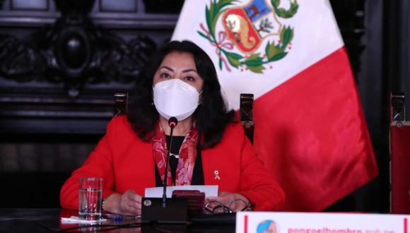 Violeta Bermúdez indicó que ningún representante del partido Perú Libre ni el presidente electo Pedro Castillo se han comunicado con ella para un eventual cargo (Foto: PCM)
