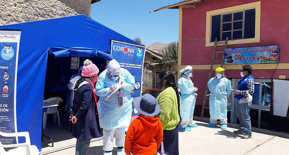 Coronavirus en Perú: 54,6% de casos positivos en Huancavelica son mujeres