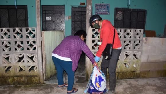 Tingo María: Medida fue dispuesta por la municipalidad provincial de Leoncio Prado para evitar aglomeración de personas. (Foto: Andina)