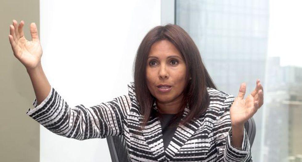 Tania Quispe, exjefa de la Sunat. (GEC)