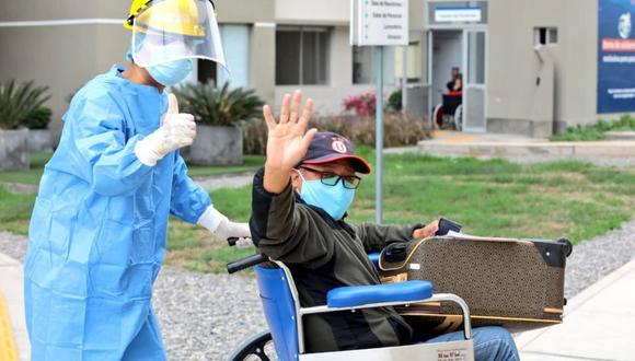 El Minsa informó sobre la cifra de pacientes recuperados. (Foto: Minsa)