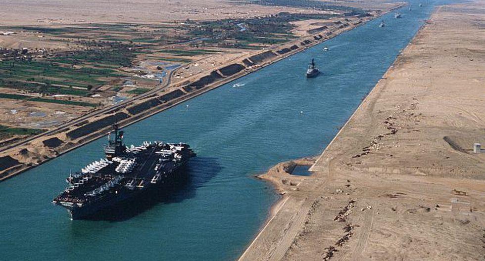 Canal de Suez es una fuente de ingresos para el Estado egipcio. (Internet)