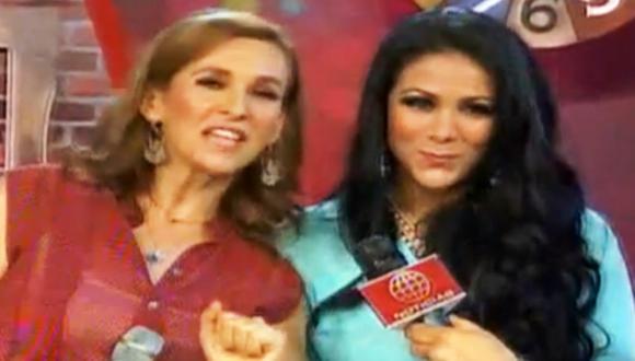 Katia Condos y Magdyel Ugaz lanzan espacio infantil. (Imagen de TV)
