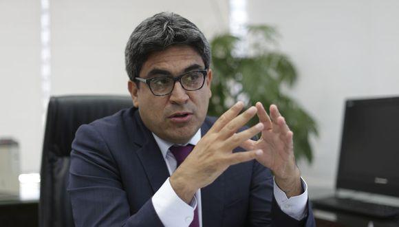 El ministro Benavides fue también blanco de ataques por parte del anterior Parlamento (Piko Tamashiro/GEC).