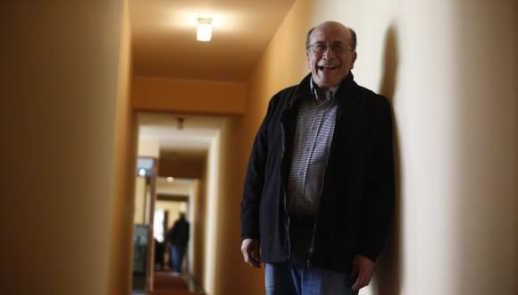 El escritor Eduardo González Viaña radica en EE.UU. Volvió para presentar dos nuevas publicaciones. (Foto: César Campos)