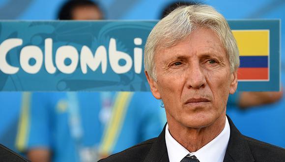 José Pekerman no seguirá en la selección Colombia. (Foto: AFP)