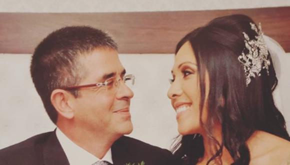 En 2018, Javier Carmona, esposo de Tula Rodríguez, sufrió un accidente cardiovascular (Foto: Instagram/ Tula Rodríguez)