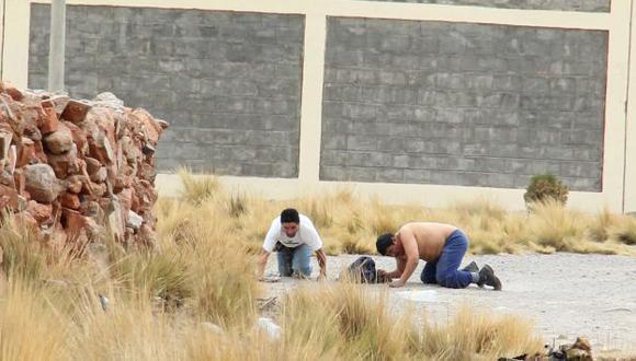 'Cholo Jacinto' fue recapturado cuando intentaba fugar de Challapalca. (Rochi León)