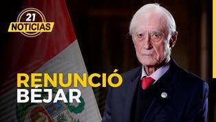 Renunció Héctor Béjar, habla el congresista Roberto Chiabra