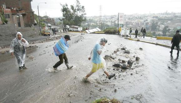Lluvias afectarán varias regiones del país. (USI/Referencial)