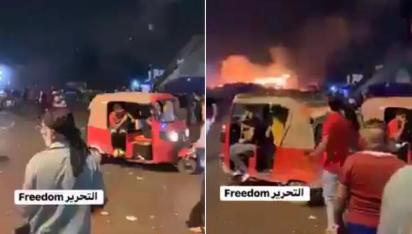 Explosión en Bagdad deja cinco personas muertas. (Foto: Captura de video)