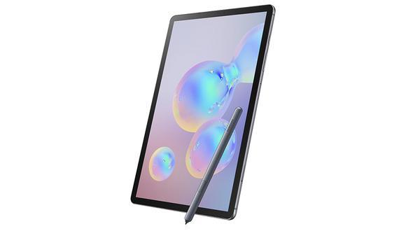 Conoce las características y precio de la nueva tablet de Samsung que tiene doble sensor trasero, la Galaxy Tab S6. (Foto: Samsung)