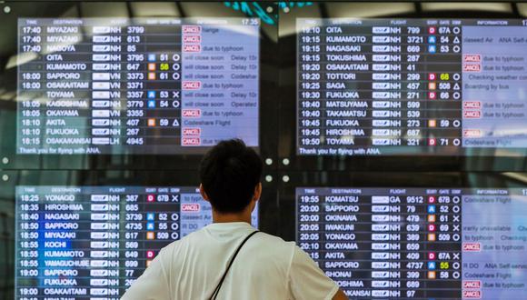 Fenómeno natural amenaza con dejar varados a miles de pasajeros. (EFE)