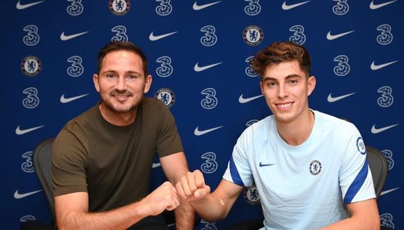 Chelsea anunció el fichaje de Havertz tras incorporar a Timo Werner, Hakim Ziyech, Ben Chilwell, Malang Sarr y Thiago Silva. (Foto: Chelsea)