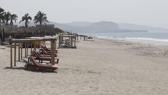 Alcalde de Máncora pide no ampliar el cierre de playas. (Foto: César Bueno/ GEC)