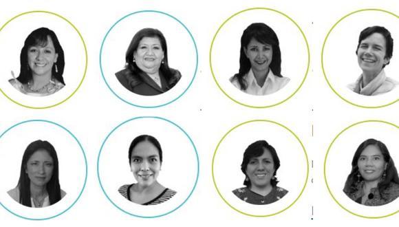 Son 11 las científicas finalistas en Premio Nacional 'Por las mujeres en la Ciencia'. (Foto: Concytec)