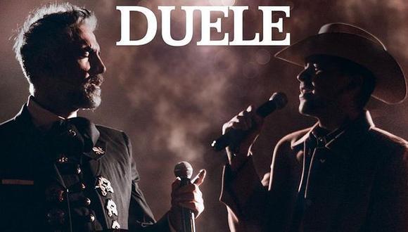 """Alejandro Fernández y Christian Nodal unen sus voces nuevamente para presentar """"Duele"""". (Foto: @alexoficial)"""