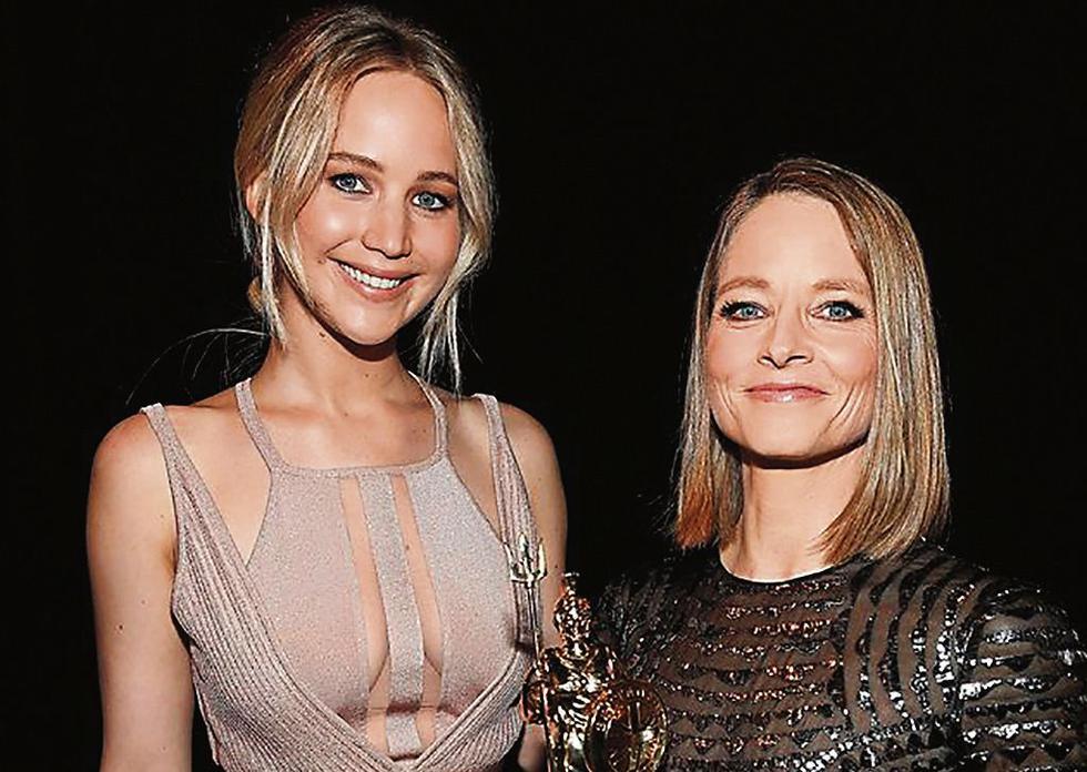 Jodie Foster y Jennifer Lawrence presentarán la categoría a mejor actriz. (USI)