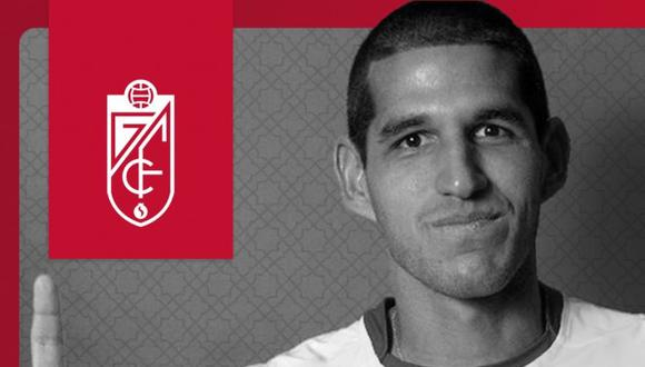 Luis Abram terminó su contrato con Vélez Sarsfield a mediados del 2021. (Foto: Granada Fc)