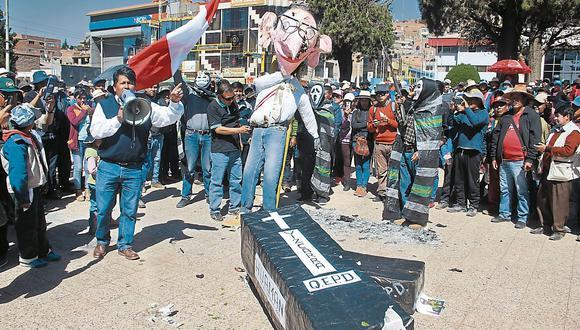 En Tacna y Puno, el tránsito estuvo restringido. (USI)
