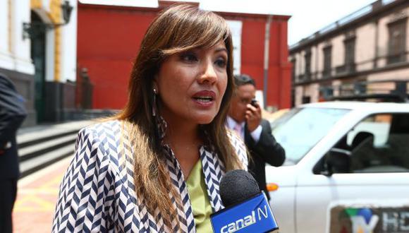 María Jara reconoció retrasos. (USI)
