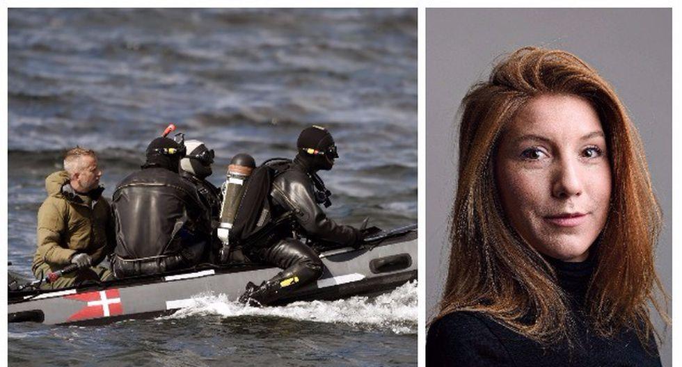 Autoridades encontraron un torso decapitado, se presume que sería de la periodista Kim Wall (Efe/Reuters).