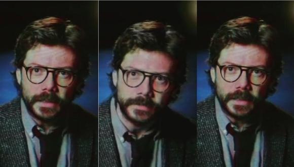 """'El Profesor' de """"La casa de papel"""" envía un mensaje a la 'resistencia' en nuevo teaser de la serie. (Foto: Captura)"""