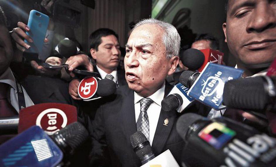 Fiscal supremo Pedro Chávarry será investigado como integrante de una red criminal. (Perú21)