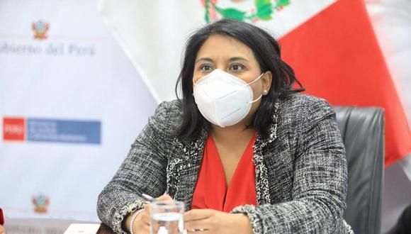 Ana Neyra, ministra de Justicia y Derechos Humanos, instó a la oposición a dar a conocer información sobre Martín Vizcarra, en caso la tengan. (Foto: Minjus)