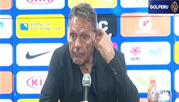 """Miguel Ángel Russo, DT Alianza Lima, dijo que los árbitros se ponen """"ansiosos"""" y """"nerviosos"""" cuando dirigen en Matute. (Video: Gol Perú)"""