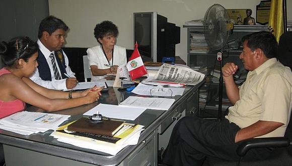 Fiscalía ha realizado varios operativos a colegios estatales de todo el país. (Difusión)