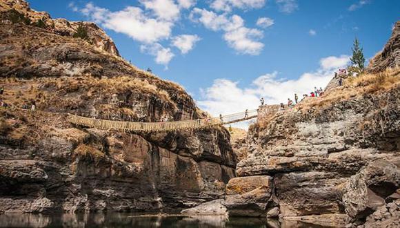 Milenario puente Q'eswachaka se renueva todos los años. (Escuela de Español AMAUTA)