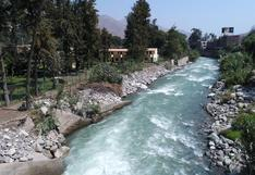 Senamhi sube a alerta naranja el río Rímac ante incremento del caudal por continuas lluvias