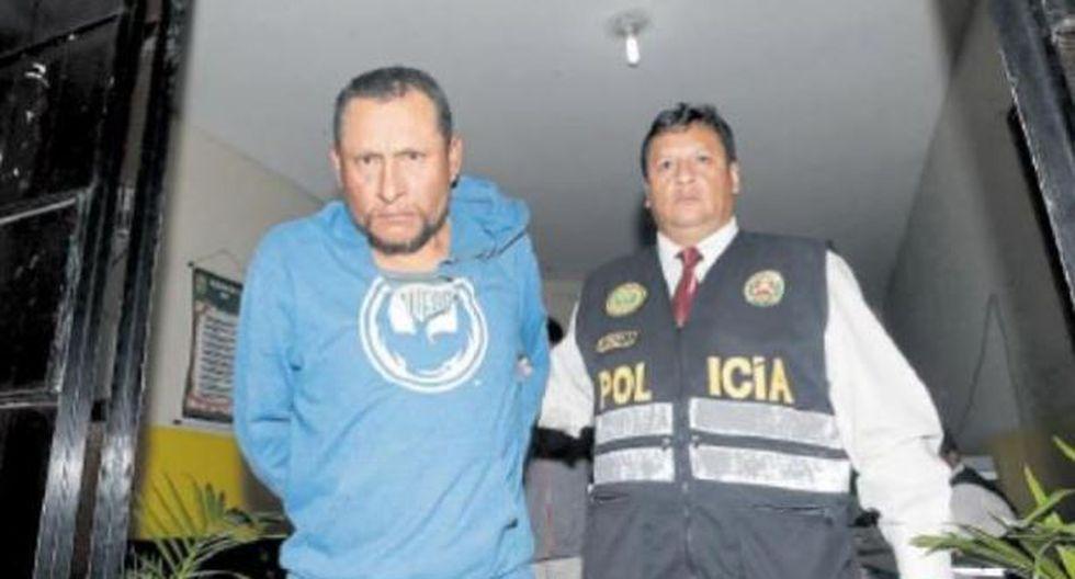 Sujeto se encuentra detenido en la Depincri de Comas. (José Caja)