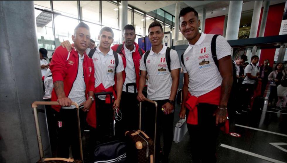 Selección peruana arribó a Suiza para continuar su viaje rumbo a Austria. (Selección peruana)
