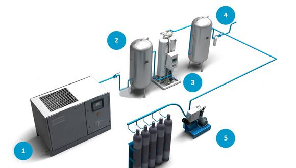 Instalan planta de oxígeno que producirá 342 metros cúbicos al día en el hospital de Espinar