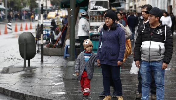 En Lima Oeste la temperatura mínima llegaría a 16°C, mientras que la máxima sería de 18°C.(Foto: GEC)