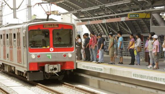 Tren Eléctrico ahorrará tiempo. (USI)