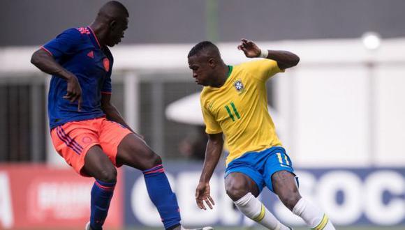 Vinicius Junior no jugará el Sudamericano sub 20 de enero próximo. (Foto: Confederación Brasileña de Fútbol)