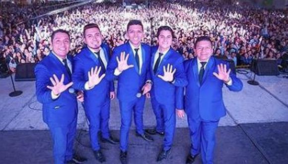 Grupo 5 realizará show virtual para celebrar la llegada del Año Nuevo. (Foto: @elgrupo5oficial)