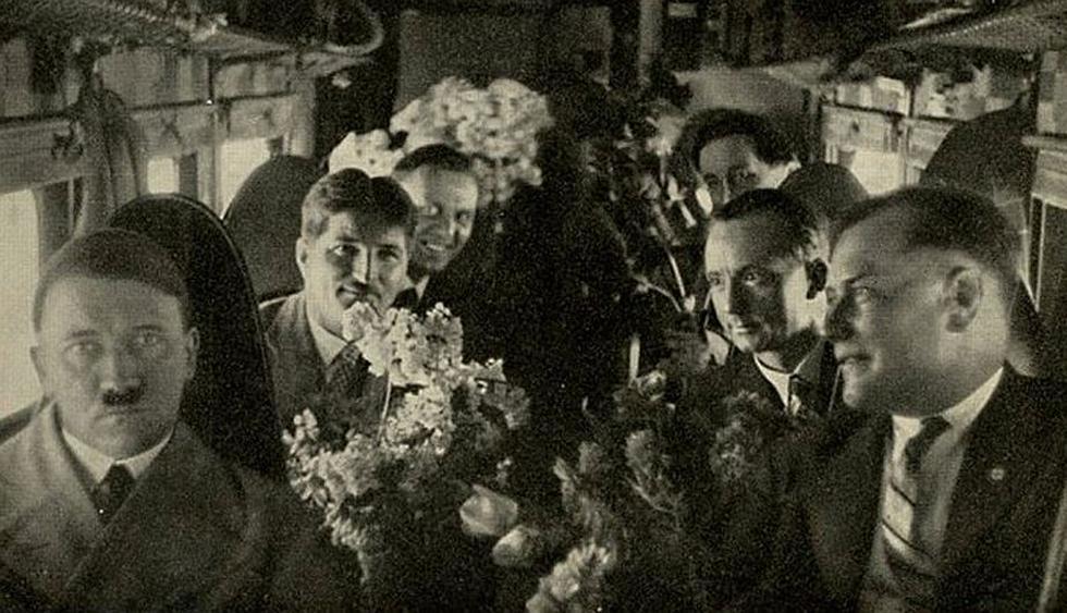 La mayoría de fotografías fueron tomadas por Heinrich Hoffmann, fotógrafo oficial del movimiento Nacional Socialista, informa Infobae. (Colección Barbara Harris/Revista Time)
