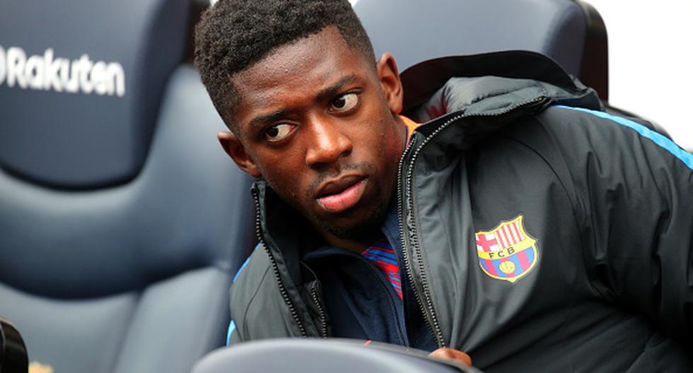 Las lesiones han alejado a Ousmane Dembélé de las canchas por varios meses. (Getty Images)