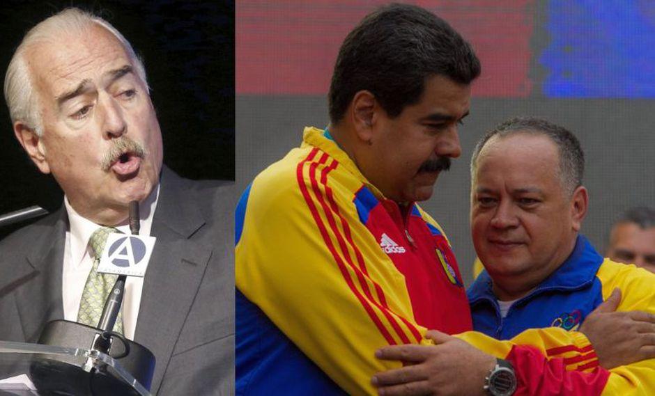 """""""En Venezuela hay un narco-dictador y este narco-dictador hoy lo que quiere es un estado narco"""", proclamó Andrés Pastrana. (Foto: EFE)"""